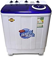 Nikai Twin-Tub Semi Automatic Washing Machine, 10kg Capacity- NWM1100SPN21