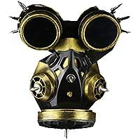 APJJ Steampunk Halloween Gas Máscara De Accesorios De Cosplay