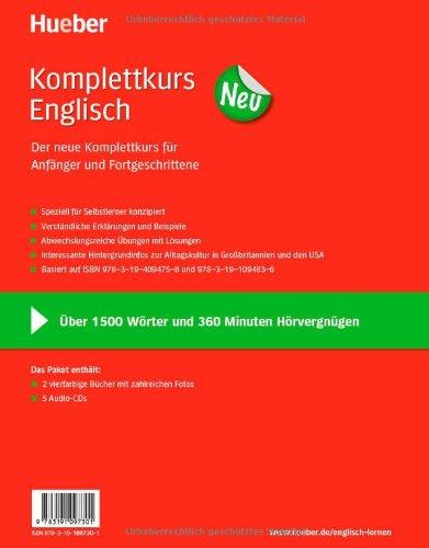 Komplettkurs Neu: Komplettkurs Englisch Neu: Paket: 2 Übungsbücher + 5 Audio-CDs