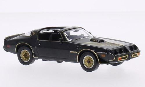 Trans Am Modellauto (Pontiac Firebird Trans Am, schwarz/Dekor, Kill Bill, 1980, Modellauto, Fertigmodell, Greenlight 1:43)