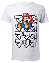 Nintendo Japanese Mario, T-Shirt Uomo