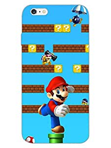iPhone 6 6S Cases & Covers - Super Super Mario - Designer Printed Hard Shell Case