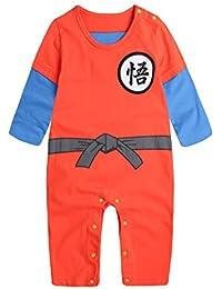 PAUBOLI Dragon Ball Z Onesie Baby Boy Cartoon Jumpsuit 100% Cotton (9-15 fc13ccb36