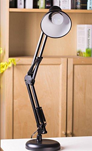 Lampe Bein Ein Kostüm Mann (LE Swing Arm Schreibtischlampen, Tischlampe,, Klemme montiert, verstellbare Architekt Schreibtischleuchten ,)