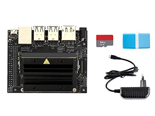 Waveshare NVIDIA Jetson Nano Developer Kit with TF Card Runs Modern AI Algorithms Multiple Neural Networks a Quad-core 64-bit ARM CPU 128-core Integrated NVIDIA GPU and 4GB LPDDR4 Memory