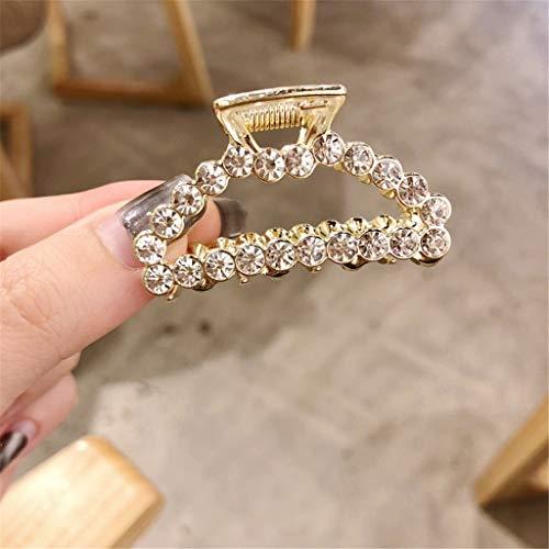 aarnadel Frauen Perle Diamant Haarspange Bobby Pin Stirnband Haarnadel Kamm Zubehör Hairpin Hair Clip Schmuck (A) ()