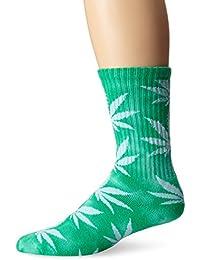 HUF Tye Dye Plantlife Crew Socks green / vert Taille Uni