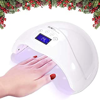Joywell LED Nail Lamp, 48W LED UV Nail Dryer with LED Display and Timer Countdown, Professional for Nail Art at Home and Salon- White
