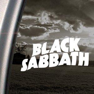 Black Sabbath adhesivo por Ozzy banda metálica ventana Ritrama