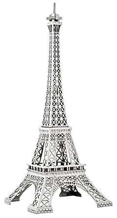 floor lamp eiffel tower silver solid nickel plated metal light. Black Bedroom Furniture Sets. Home Design Ideas