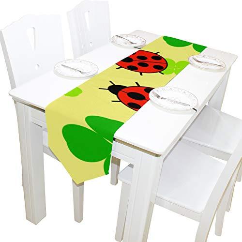 latt Wilde Kreatur Kommode Schal Tuch Abdeckung Tischläufer Tischdecke Tischset Küche Esszimmer Wohnzimmer Home Hochzeitsbankett Dekor Indoor 13x90 Zoll ()