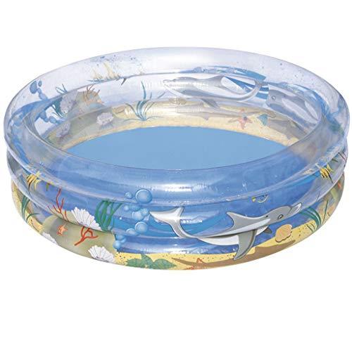 LQHPP Erholungszentrum Kinderpool Aufblasbare Badewanne 168 * 38 cm Für Kinder Im Alter Von 0-9 (58 * 14 Zoll)