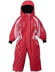 Peak Mountain Fiski/3 – 8/NH de esquí para niña, niña, color rosa - rose - fuchsia, tamaño FR : 5 ans (Taille Fabricant : 5)