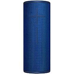 Ultimate Ears MEGABOOM 3 Enceinte Bluetooth sans fil (son puissant + basses rugissantes, Bluetooth, bouton magique, étanche, longévité de la batterie de 20 heures, portée de 45 m) - Bleu