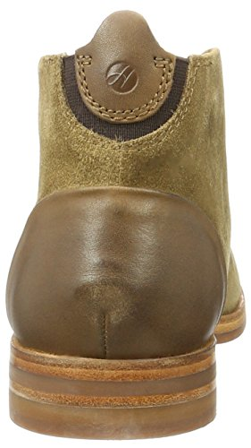 Hudson London Herren Matteo Suede Chukka Boots Braun (Tobacco)