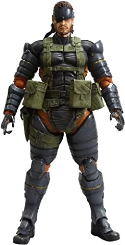Square Enix Metal Gear Solid Peace Walker Play Arts Kai Volume 4 Snake Battle Dress Version