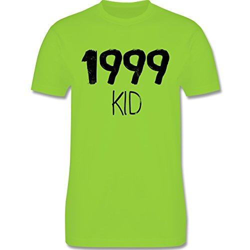 Geburtstag - 1999 KID - Herren Premium T-Shirt Hellgrün
