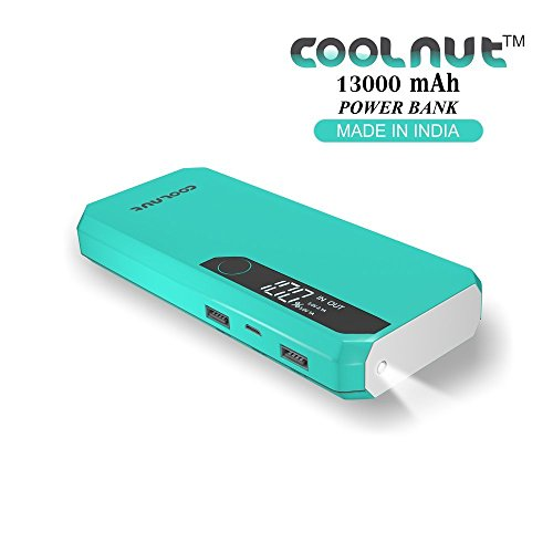 COOLNUT 13000mAh Best Power Bank for all Android & Smartphone