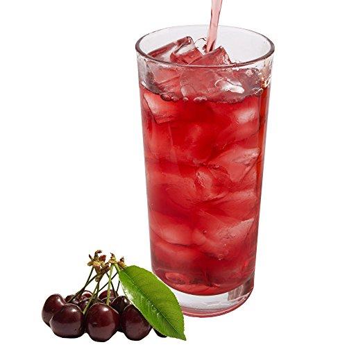 Sauerkirsch Geschmack extrem ergiebiges Getränkepulver für Isotonisches Sportgetränk Energy-Drink ISO-Drink Elektrolytgetränk Wellnessdrink (333 g)
