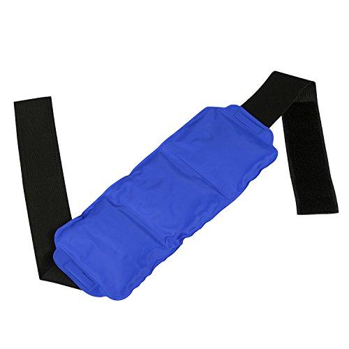 LEADSTAR Bolsa de Gel para Aplicar Frío y Calor Con Banda de Compresión Para Lesiones en la Rodilla