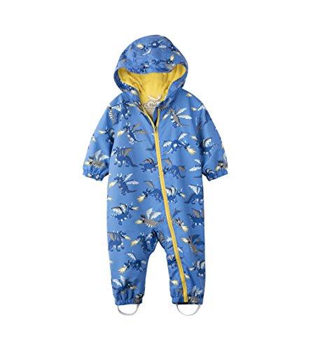 Hatley Baby Boys' Microfiber Bundler Rain Jacket