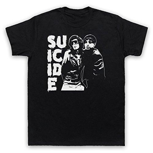 Suicide Musical Duo Band Herren T-Shirt Schwarz