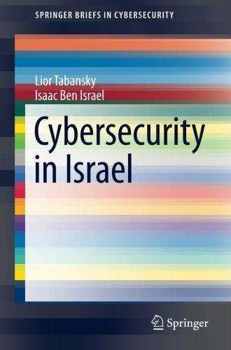 Cybersecurity in Israel (SpringerBriefs in Cybersecurity) by Lior Tabansky (2015-09-30)