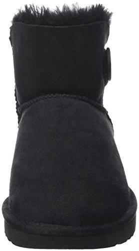 UGG Australia Mini Bailey Button, Scarpe a Collo Alto Donna Nero