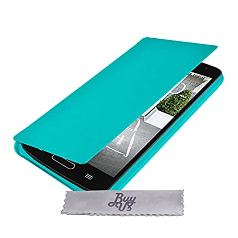 Housse Lg D315 - Etui Housse Turquoise ExtraSlim LG F70 +