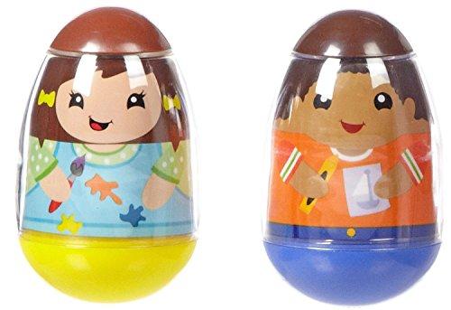 playskool-weebles-art-girls-boy-kids-2-pack