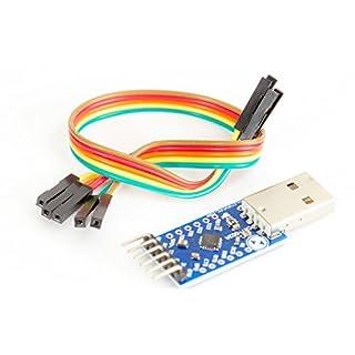USB zu TTL UART Serial Converter mit CP2104 für Arduino Prototyping
