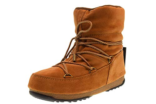 Moon Boot Chaussures Femme Low Suede WP 24008300 004 Whisky