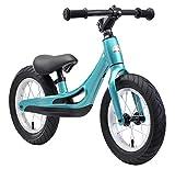 BIKESTAR Magnesium (superleicht) Kinderlaufrad Lauflernrad Kinderrad für Jungen und Mädchen ab 3-4 Jahre ★ 12 Zoll Kinder Laufrad Cruiser Ultraleicht ★ Türkis