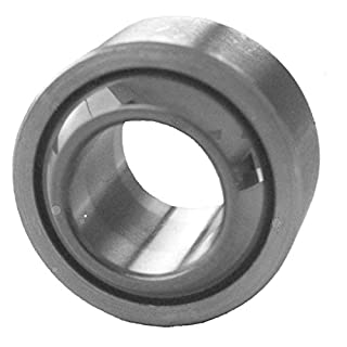 J.W. Winco 16M315LZ9/K GXSW Spherical Plain Bearing, Steel with PTFE Liner Bonded to The Inner Surface, 31.5 mm Outside Diameter, 16 mm Bore, 21 mm Width