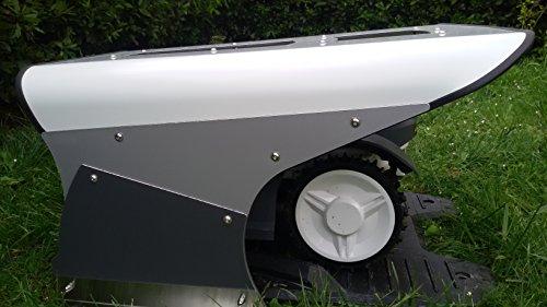Mähroboter Garage Solar Dach Carport Automower - 7
