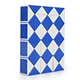 fitTek Magic Ruler Cube Twist Snake Folding Puzzle Kids Educational Toy Gift 48PCS