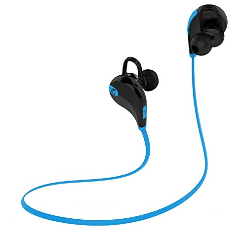 SoundPEATS QY7  In-Ear Headphone With Mic (Black/Blue)