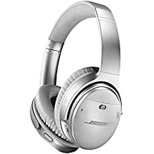 Bose QuietComfort 35 (Series II) Wireless Headphones, Noise Cancelling with Amazon Alexa - Silver