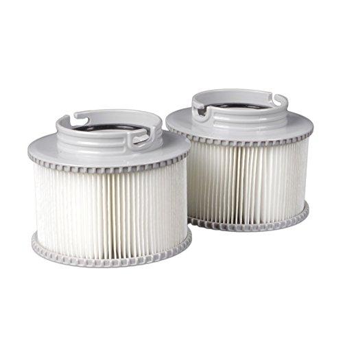 Ersatz-Filterkartusche Filter 2er Set für alle BRAST MSpa Whirlpool