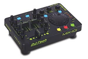 DJ Tech MIX-101 Midi Workstation Table de mixage USB