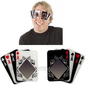 Elope - Gafas para disfraz de poker