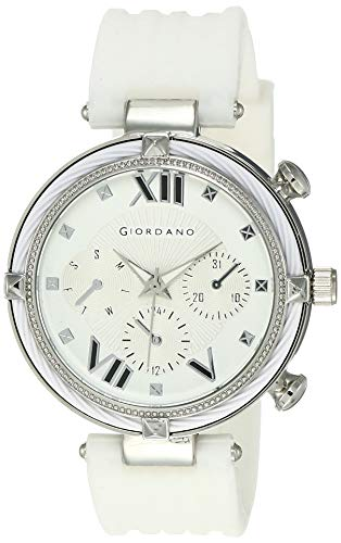 Giordano Analog White Dial Women's Watch-C2121-01