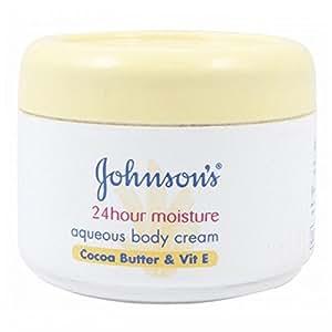 Johnsons Baby Johnsons Body Care 24 Hour Aqueous Cream 350Ml - Cocoa Butter & Vitamin E