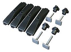 Thule 696600Netzteil 696-6Track für Dachbox powerclick, 24mm, Set von 4