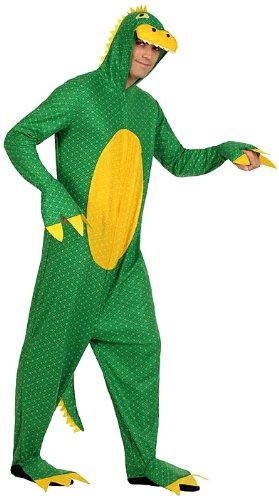 Imagen de atosa  disfraz de lagarto para hombre, talla xl 22999
