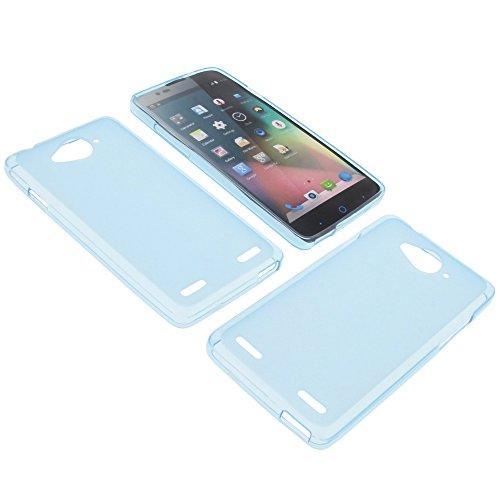 foto-kontor Tasche für ZTE Blade L3 Plus Gummi TPU Schutz Hülle Handytasche blau