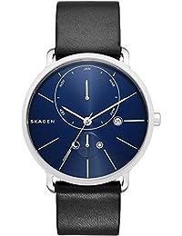 Skagen Herren-Armbanduhr Analog Quarz Leder SKW6241