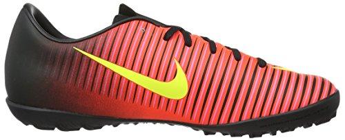 Nike - Jr Mercurialx Vapor Xi Tf, Scarpe da calcio Unisex – Bimbi 0-24 Arancione (Naranja (Total Crimson / Vlt-Blk-Pnk Blst))