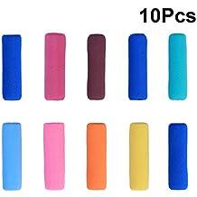 Pixnor - Agarre para lápiz protector de dedos de espuma suave antideslizante, 10 unidades (