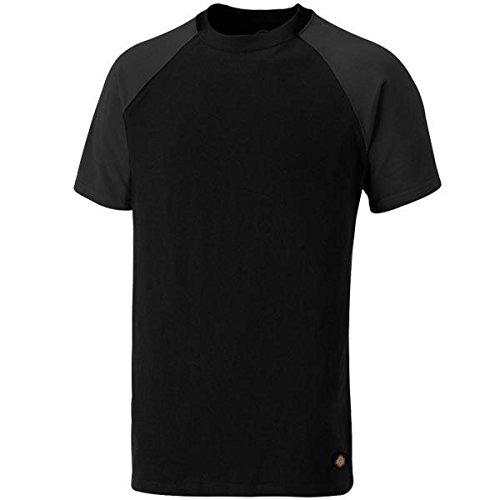 Dickies Two Tone T-Shirt SH2007 Schwarz/Grau
